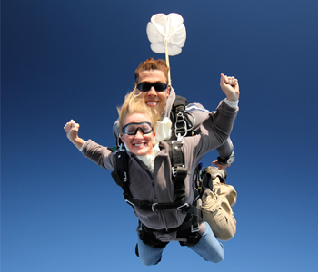 Holiday Tandem Skydiving Gift Certificates